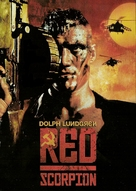 Red Scorpion - German DVD cover (xs thumbnail)