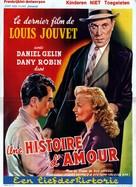 Une histoire d'amour - Belgian Movie Poster (xs thumbnail)