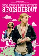 Huit fois debout - French Movie Poster (xs thumbnail)