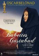 Babettes gæstebud - Swedish Movie Poster (xs thumbnail)