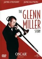 The Glenn Miller Story - Swedish DVD movie cover (xs thumbnail)