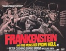 Frankenstein and the Monster from Hell - British Movie Poster (xs thumbnail)