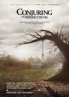 The Conjuring - German Movie Poster (xs thumbnail)
