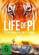 Life of Pi - German DVD cover (xs thumbnail)