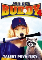 Air Bud: Seventh Inning Fetch - Czech DVD movie cover (xs thumbnail)