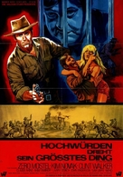 The Great Bank Robbery - German Movie Poster (xs thumbnail)