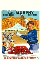 40 Guns to Apache Pass - Belgian Movie Poster (xs thumbnail)