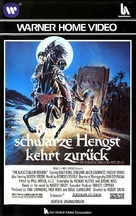 The Black Stallion Returns - German VHS cover (xs thumbnail)