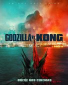 Godzilla vs. Kong - Brazilian Movie Poster (xs thumbnail)