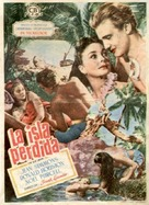 The Blue Lagoon - Spanish Movie Poster (xs thumbnail)