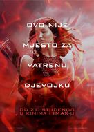 The Hunger Games: Catching Fire - Croatian Movie Poster (xs thumbnail)