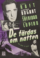 They Drive by Night - Swedish Movie Poster (xs thumbnail)