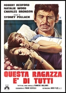 This Property Is Condemned - Italian Movie Poster (xs thumbnail)