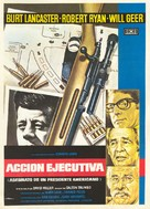 Executive Action - Spanish Movie Poster (xs thumbnail)