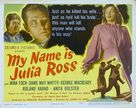 My Name Is Julia Ross - Theatrical movie poster (xs thumbnail)