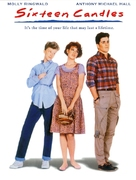Sixteen Candles - DVD movie cover (xs thumbnail)