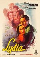 Lydia - Italian Movie Poster (xs thumbnail)