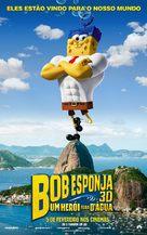 The SpongeBob Movie: Sponge Out of Water - Brazilian Movie Poster (xs thumbnail)