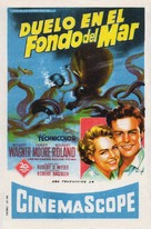 Beneath the 12-Mile Reef - Spanish Movie Poster (xs thumbnail)