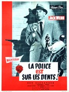 Dragnet - French Movie Poster (xs thumbnail)