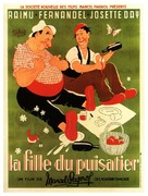 La fille du puisatier - French Movie Poster (xs thumbnail)