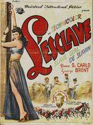 Slave Girl - Belgian Movie Poster (xs thumbnail)