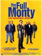 The Full Monty - French Movie Poster (xs thumbnail)