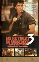 No Retreat, No Surrender 3: Blood Brothers - Polish VHS cover (xs thumbnail)