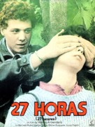 27 horas - French Movie Poster (xs thumbnail)