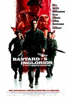 Inglourious Basterds - Brazilian Movie Poster (xs thumbnail)