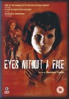 Les yeux sans visage - British DVD movie cover (xs thumbnail)