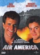 Air America - Portuguese DVD cover (xs thumbnail)