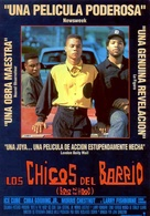 Boyz N The Hood - Spanish Movie Poster (xs thumbnail)