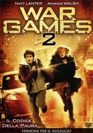 Wargames: The Dead Code - Italian DVD cover (xs thumbnail)