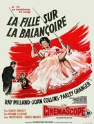 The Girl in the Red Velvet Swing - French Movie Poster (xs thumbnail)