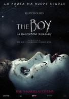 Brahms: The Boy II - Italian Movie Poster (xs thumbnail)