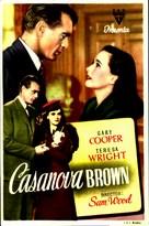 Casanova Brown - Spanish Movie Poster (xs thumbnail)