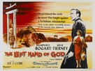 The Left Hand of God - British Theatrical poster (xs thumbnail)