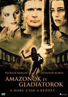 Amazons and Gladiators - Hungarian Movie Cover (xs thumbnail)