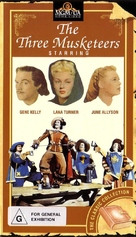 The Three Musketeers - Australian DVD cover (xs thumbnail)