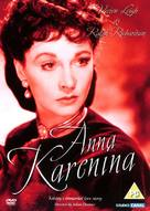 Anna Karenina - British DVD movie cover (xs thumbnail)
