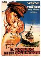 The Sea Chase - Spanish Movie Poster (xs thumbnail)