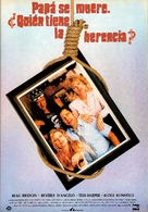 Daddy's Dyin'... Who's Got the Will? - Spanish Movie Poster (xs thumbnail)