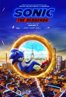 Sonic the Hedgehog - New Zealand Movie Poster (xs thumbnail)