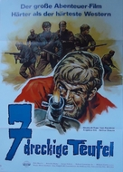 Sette baschi rossi - German Movie Poster (xs thumbnail)