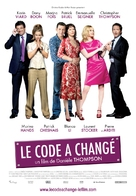 Le code a changé - French Movie Poster (xs thumbnail)