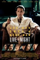 Live by Night - Icelandic Movie Poster (xs thumbnail)