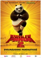 Kung Fu Panda 2 - Slovak Movie Poster (xs thumbnail)