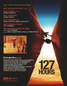 127 Hours - For your consideration movie poster (xs thumbnail)