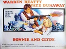Bonnie and Clyde - British Movie Poster (xs thumbnail)